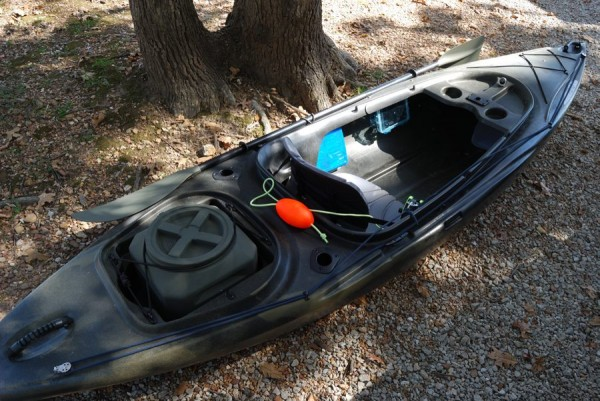 Gary's Ascend FS10 Kayak already for the lake and fishing