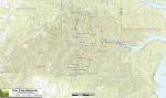 Trail Map: Piney Creek Wilderness