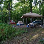 Pines Overlook Campsite, Red Bluff Campground, Missouri