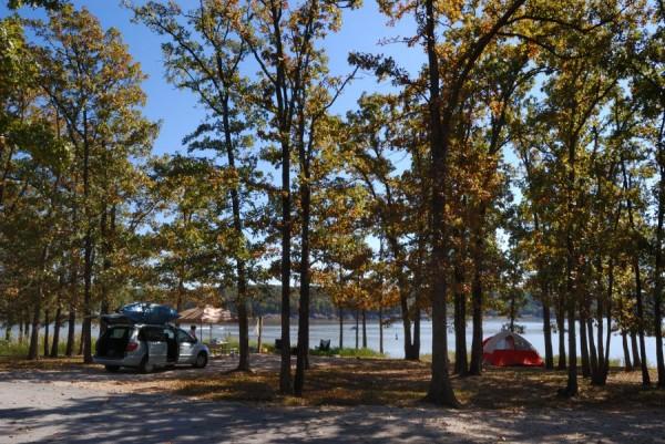 Campsite A20, Berry Bend Campground, Harry S Truman Lake, Missouri