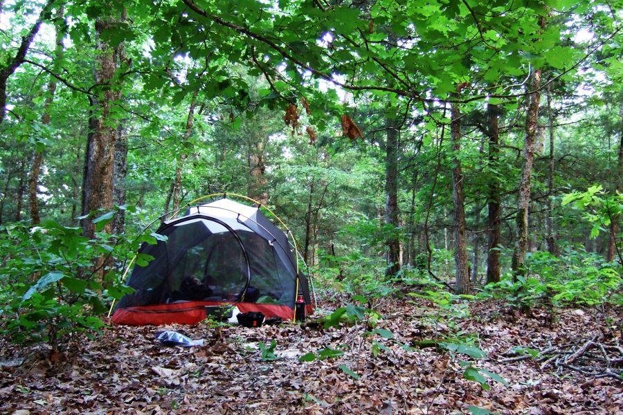 Trip report: Memorial Day weekend backpacking at Hercules Glades Wilderness