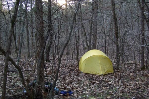 Mutha Hubba Tent - Hercules Glades Wilderness