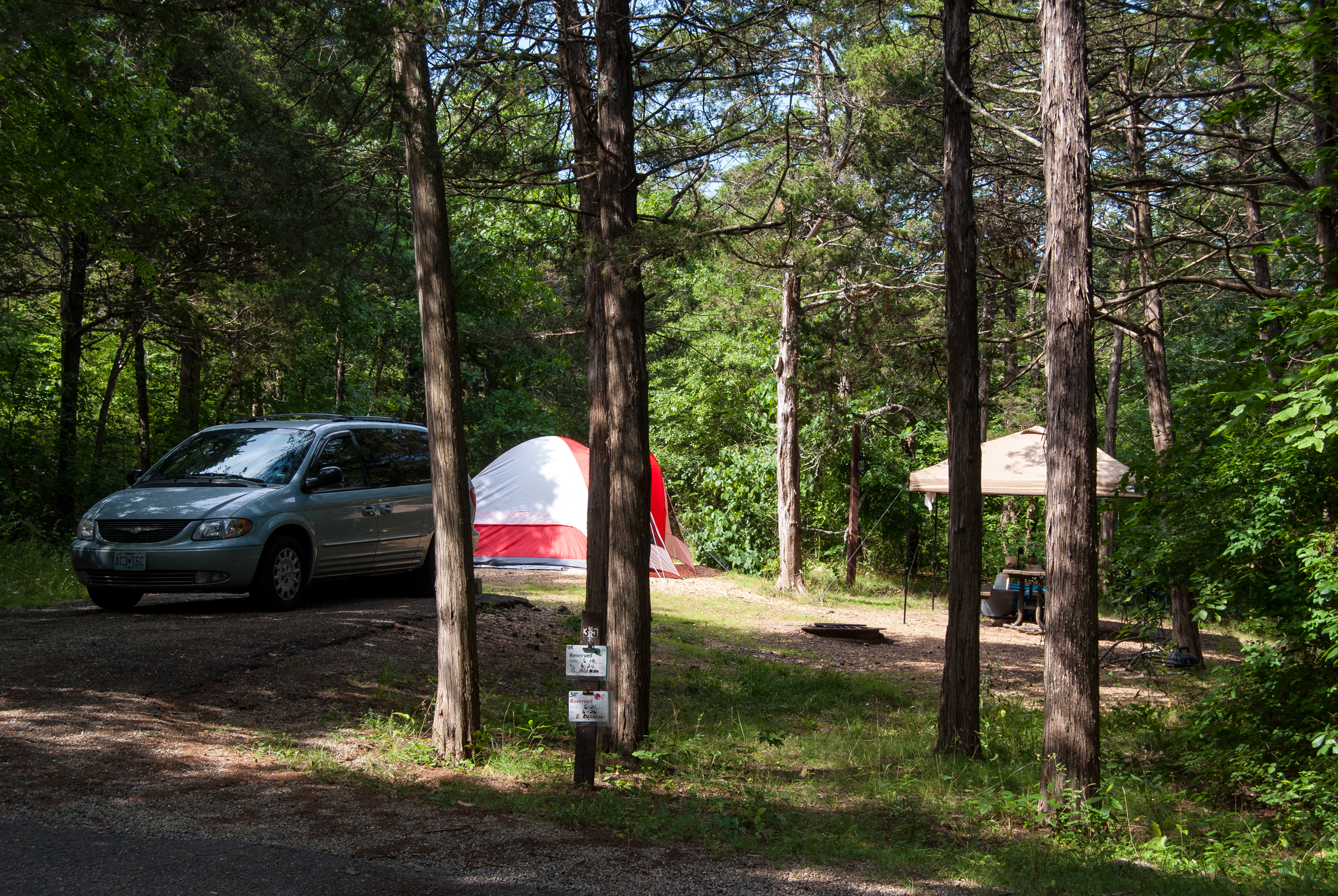 Weekend Camping at Big Bay Recreation Area, Table Rock ...